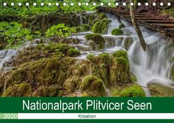 Nationalpark Plitvicer Seen (Tischkalender 2020 DIN A5 quer) von Eschrich -HeschFoto,  Heiko