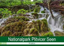 Nationalpark Plitvicer Seen (Wandkalender 2020 DIN A3 quer) von Eschrich -HeschFoto,  Heiko