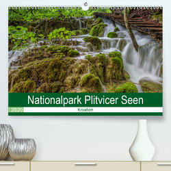 Nationalpark Plitvicer Seen (Premium, hochwertiger DIN A2 Wandkalender 2020, Kunstdruck in Hochglanz) von Eschrich -HeschFoto,  Heiko