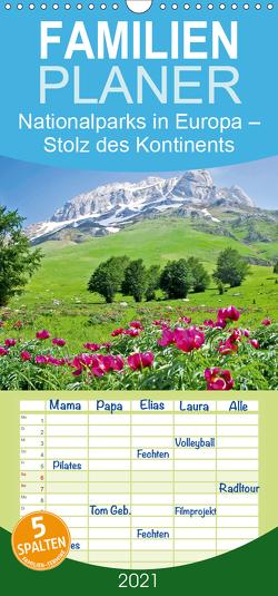 Nationalparks in Europa – Stolz des Kontinents – Familienplaner hoch (Wandkalender 2021 , 21 cm x 45 cm, hoch) von CALVENDO