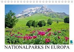 Nationalparks in Europa – Stolz des Kontinents (Tischkalender 2018 DIN A5 quer) von CALVENDO,  k.A.