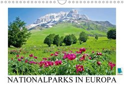 Nationalparks in Europa – Stolz des Kontinents (Wandkalender 2018 DIN A4 quer) von CALVENDO,  k.A.