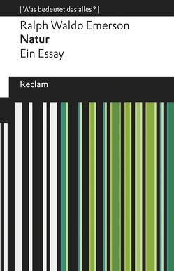 Natur von Emerson,  Ralph Waldo, Pütz,  Manfred