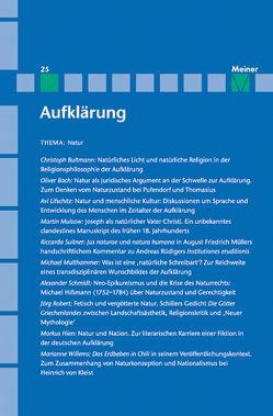 Natur von Mulsow,  Martin, Vollhardt,  Friedrich