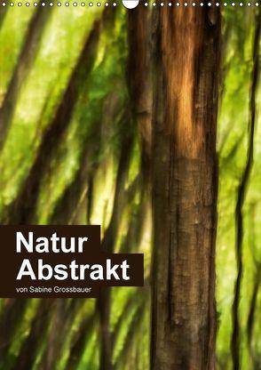 Natur Abstrakt (Wandkalender 2018 DIN A3 hoch) von Grossbauer,  Sabine