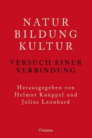 Natur – Bildung – Kultur von Knüppel,  Helmut