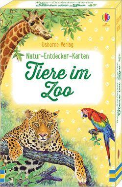 Natur-Entdecker-Karten: Tiere im Zoo von Clarke,  Phillip, McGregor,  Malcolm