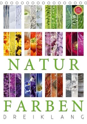 Natur Farben Dreiklang (Tischkalender 2018 DIN A5 hoch) von Cross,  Martina