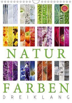 Natur Farben Dreiklang (Wandkalender 2019 DIN A4 hoch) von Cross,  Martina