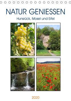 Natur genießen – Hunsrück, Mosel und Eifel (Tischkalender 2020 DIN A5 hoch) von Frost,  Anja