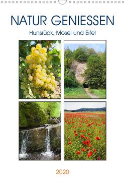 Natur genießen – Hunsrück, Mosel und Eifel (Wandkalender 2020 DIN A3 hoch) von Frost,  Anja