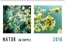 NATUR im Doppel 2019 (Wandkalender 2019 DIN A2 quer) von Kühn,  Simone