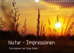 Natur – Impressionen Terminkalender von Tanja Riedel Schweizer KalendariumCH-Version (Wandkalender 2019 DIN A4 quer) von Riedel,  Tanja