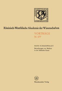 Natur-, Ingenieur- und Wirtschaftswissenschaften von Schadewaldt,  Hans