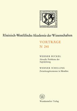 Natur-, Ingenieur- und Wirtschaftswissenschaften von Buckel,  Werner