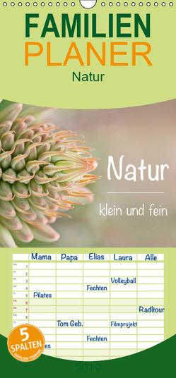 Natur klein und fein – Familienplaner hoch (Wandkalender 2019 , 21 cm x 45 cm, hoch) von Busse,  Alexander