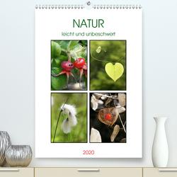 Natur leicht und unbeschwert (Premium, hochwertiger DIN A2 Wandkalender 2020, Kunstdruck in Hochglanz) von Kruse,  Gisela