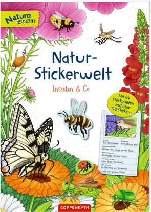 Natur-Stickerwelt – Insekten & Co. von Warnecke,  Ruby Anna