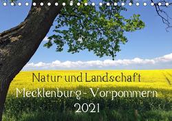 Natur und Landschaft Mecklenburg – Vorpommern 2021 (Tischkalender 2021 DIN A5 quer) von Jürgens,  Marlen