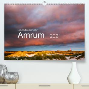 Natur und Landschaften. Amrum 2021 (Premium, hochwertiger DIN A2 Wandkalender 2021, Kunstdruck in Hochglanz) von Koch,  Lucyna