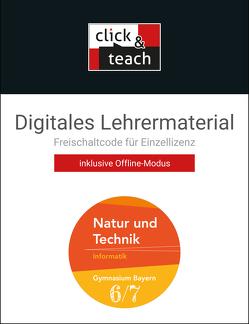 Natur und Technik – Gymnasium Bayern / Natur und Technik click & teach 6/7 Box