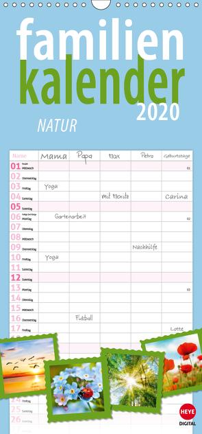 Natur (Wandkalender 2020 , 21 cm x 45 cm, hoch) von Digital,  Heye