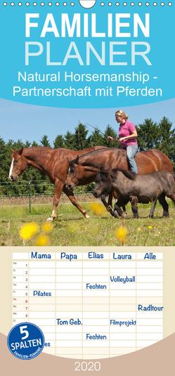 Natural Horsemanship – Partnerschaft mit Pferden – Familienplaner hoch (Wandkalender 2020 , 21 cm x 45 cm, hoch) von Bölts,  Meike