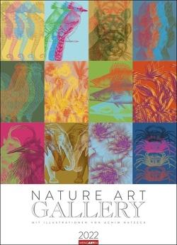 Nature Art Gallery Kalender 2022 von Natzeck,  Achim, Weingarten