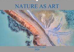 Nature as Art – Tongruben von oben (Wandkalender 2020 DIN A2 quer) von Bundrück,  Peter
