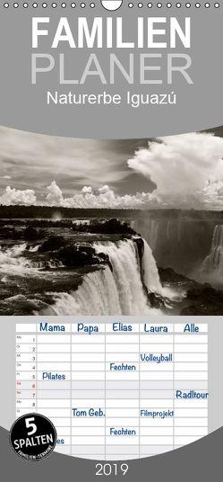 Naturerbe Iguazú – Familienplaner hoch (Wandkalender 2019 , 21 cm x 45 cm, hoch) von boeTtchEr,  U