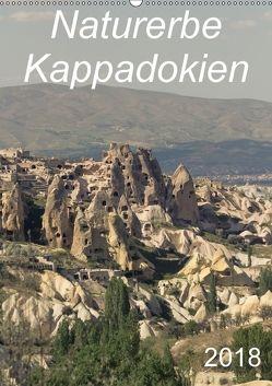 Naturerbe Kappadokien (Wandkalender 2018 DIN A2 hoch) von r.gue.,  k.A.