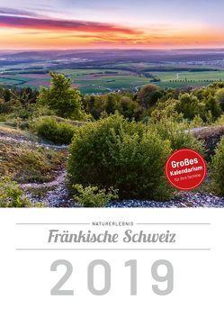 Naturerlebnis Fränkische Schweiz 2019, Wandkalender DIN A4 von Schneider,  Frank