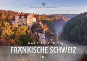 Naturerlebnis Fränkische Schweiz 2020, Wandkalender DIN A2 von Schneider,  Frank