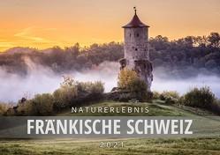 Naturerlebnis Fränkische Schweiz 2021, Wandkalender DIN A2 von Schneider,  Frank