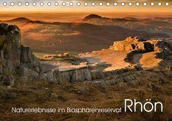 Naturerlebnis im Biosphärenreservat Rhön (Tischkalender 2019 DIN A5 quer)