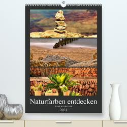 Naturfarben entdecken (Premium, hochwertiger DIN A2 Wandkalender 2021, Kunstdruck in Hochglanz) von Michalzik,  Paul