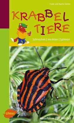 Naturführer für Kinder: Krabbeltiere von Hecker,  Frank und Katrin