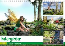 Naturgeister Die Grünen Feen (Wandkalender 2021 DIN A4 quer) von Gaymard,  Alain