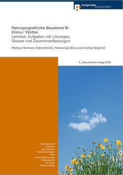 Naturgeografische Bausteine B: Klima/Wetter von Egli-Broz,  Helena, Grigoleit,  Andrea, Schertenleib,  Markus-Hermann