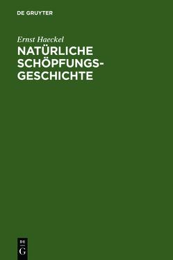 Natürliche Schöpfungsgeschichte von Haeckel,  Ernst