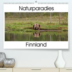 Naturparadies Finnland (Premium, hochwertiger DIN A2 Wandkalender 2021, Kunstdruck in Hochglanz) von Maurer,  Marion