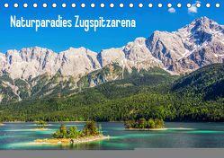 Naturparadies Zugspitzarena (Tischkalender 2019 DIN A5 quer) von Ferrari,  Sascha