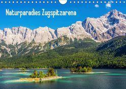 Naturparadies Zugspitzarena (Wandkalender 2019 DIN A4 quer) von Ferrari,  Sascha