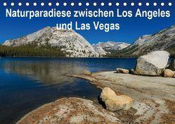 Naturparadiese zwischen Los Angeles und Las Vegas (Tischkalender 2019 DIN A5 quer) von Hitzbleck,  Rolf