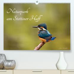 Naturpark am Stettiner Haff (Premium, hochwertiger DIN A2 Wandkalender 2020, Kunstdruck in Hochglanz) von Kalanke,  Jens