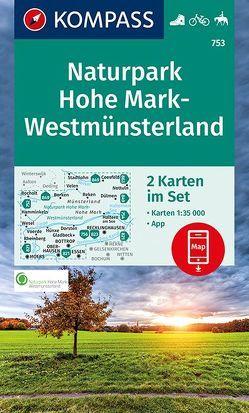 Naturpark Hohe Mark-Westmünsterland von KOMPASS-Karten GmbH