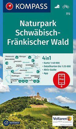 Naturpark Schwäbisch-Fränkischer Wald von KOMPASS-Karten GmbH