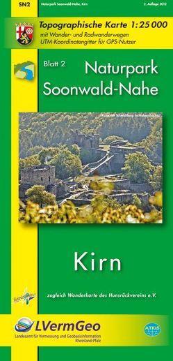Naturpark Soonwald-Nahe /Kirn (WR) von Landesamt für Vermessung und Geobasisinformation Rheinland-Pfalz