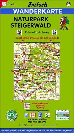 Naturpark Steigerwald von Fritsch Landkartenverlag