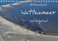 Naturpark Wattenmeer und Helgoland (Tischkalender 2019 DIN A5 quer) von N.,  N.